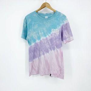 HUF Graphic T-Shirt Men's Blue Purple Medium